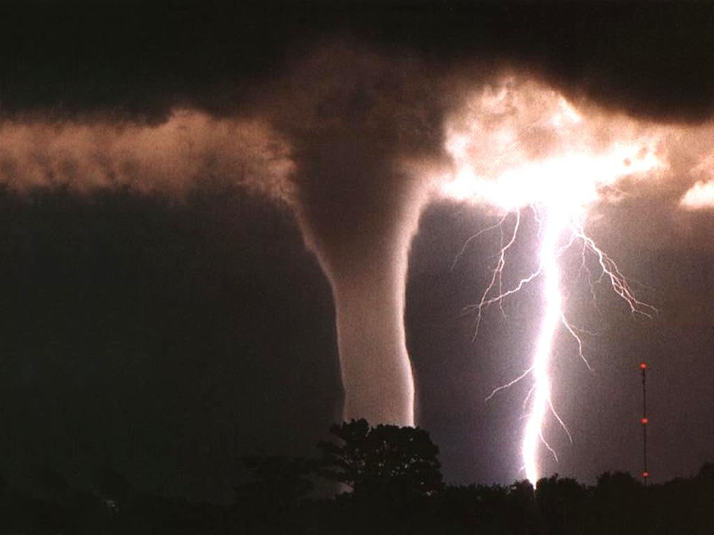 tornado & lightning